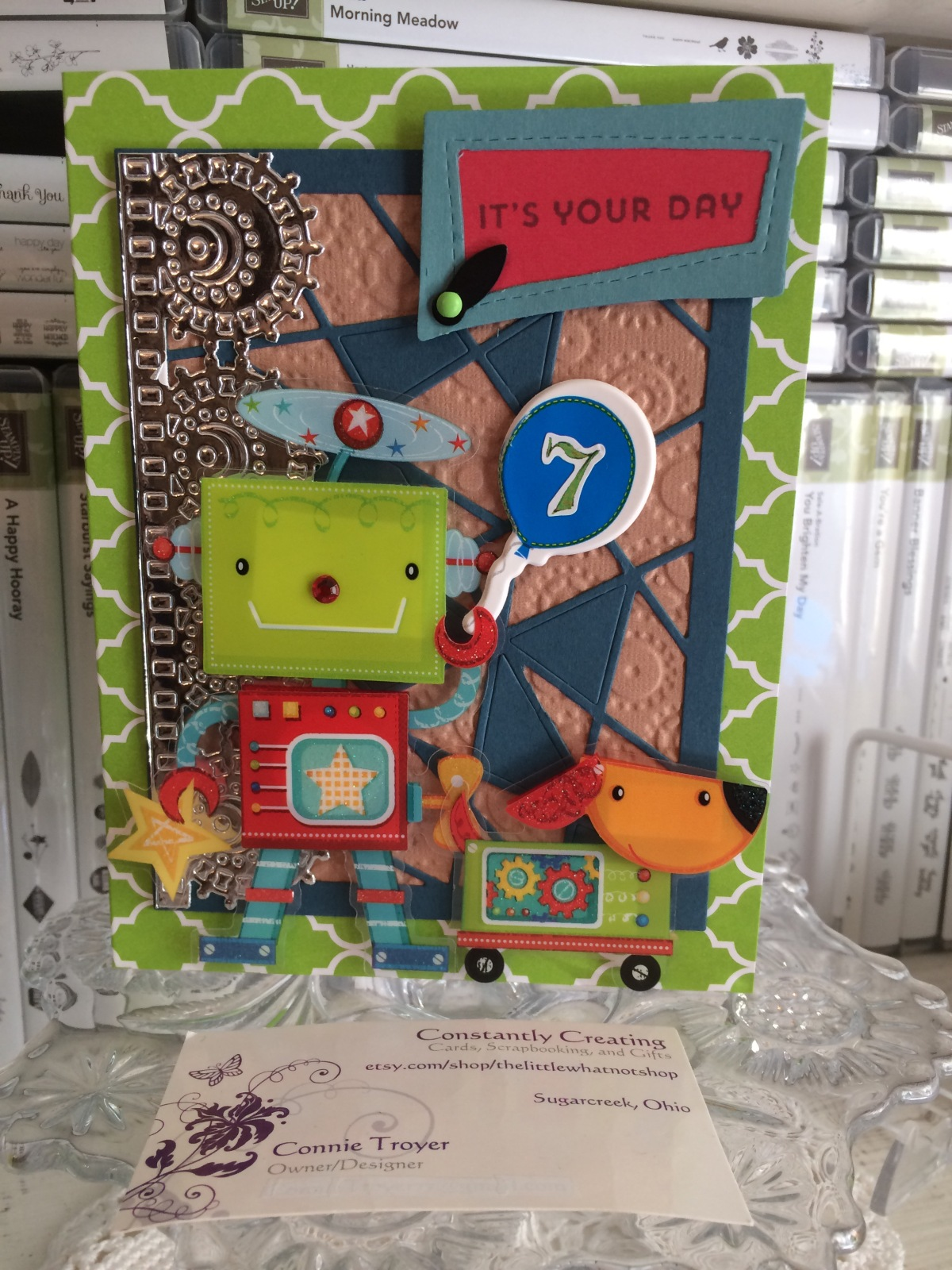 Nuts and Bolts about You Birthday Card