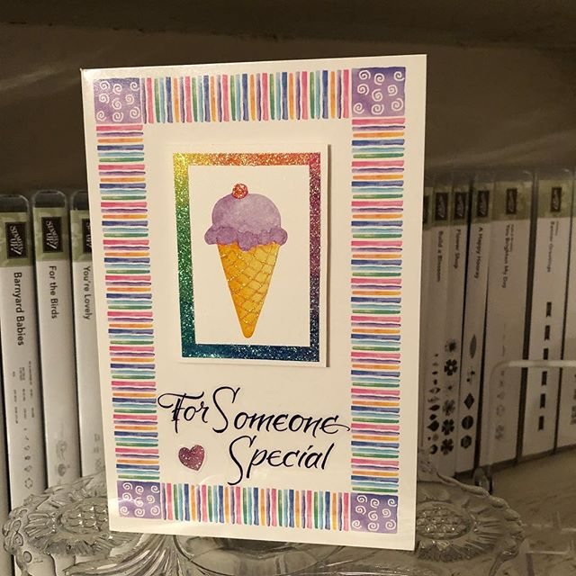 "Card Kit Pieces–""For Someone Special"" Birthday Card"