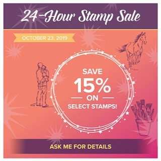 Stampin' Up 15% Off Sale Today Only!