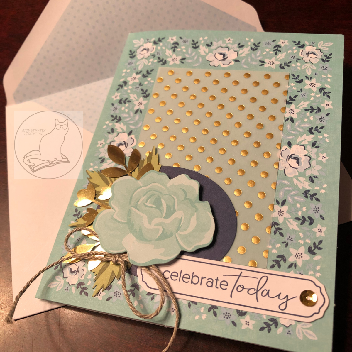 Birthday/Celebration and Thinking of You Cards with the Sale-a-Bration Kerchief Card Kit for Stamp with Amy K's Sunday Blog Hop